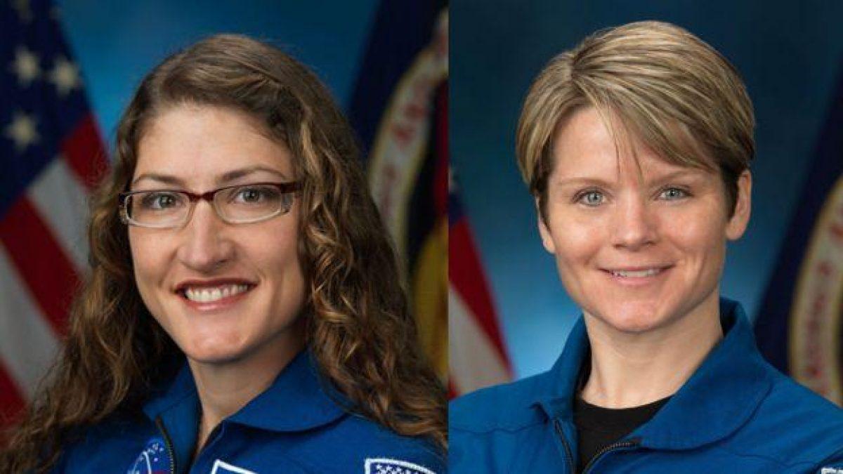 Koch y McClain, ambas de Estados Unidos, iban a protagonizar el viernes la primera caminata espacial realizada íntegramente por mujeres