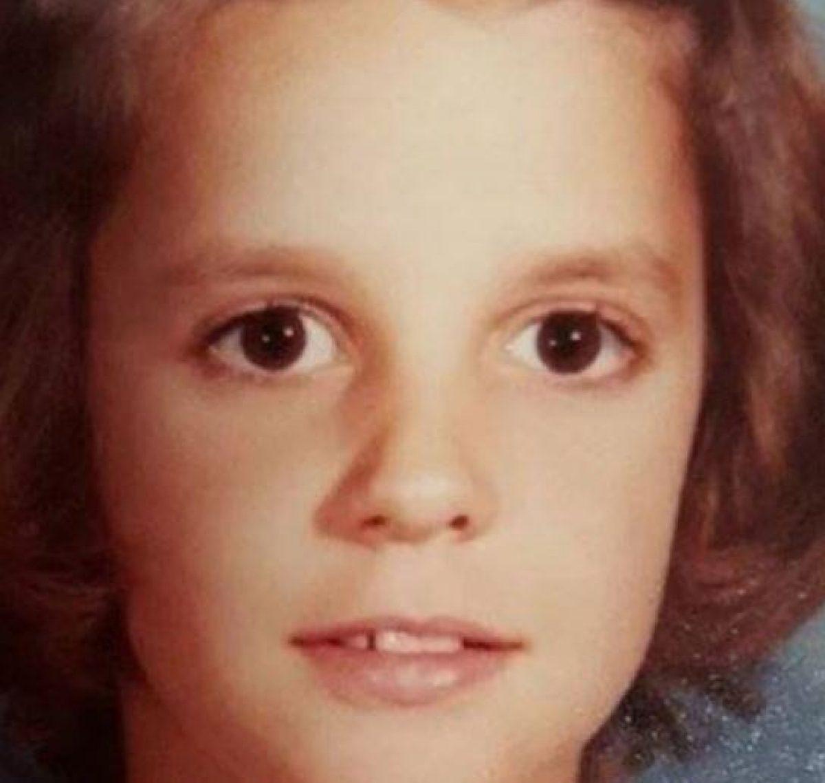 Tammy Welch en una fotografía escolar