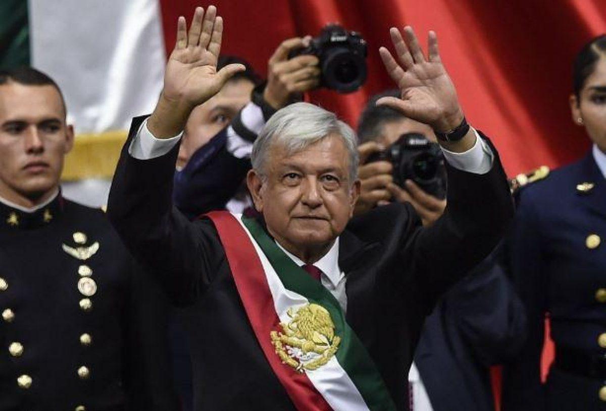 El nuevo presidente de México, Andrés Manuel López Obrador (AMLO).