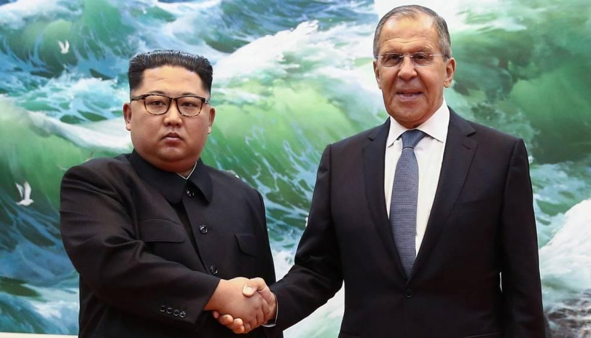 El último encuentro de alto rango entre Corea del Norte y Rusia se dio en mayo de 2018, cuando Kim Jong-un recibió en Pyongyang al canciller ruso, Serguéi Lavrov