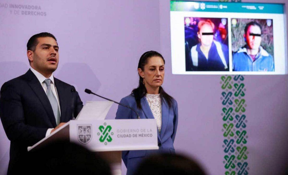 Claudia Sheinbaum y Omar García dan detalles de la captura de sospechosos del asesinato de Fátima.