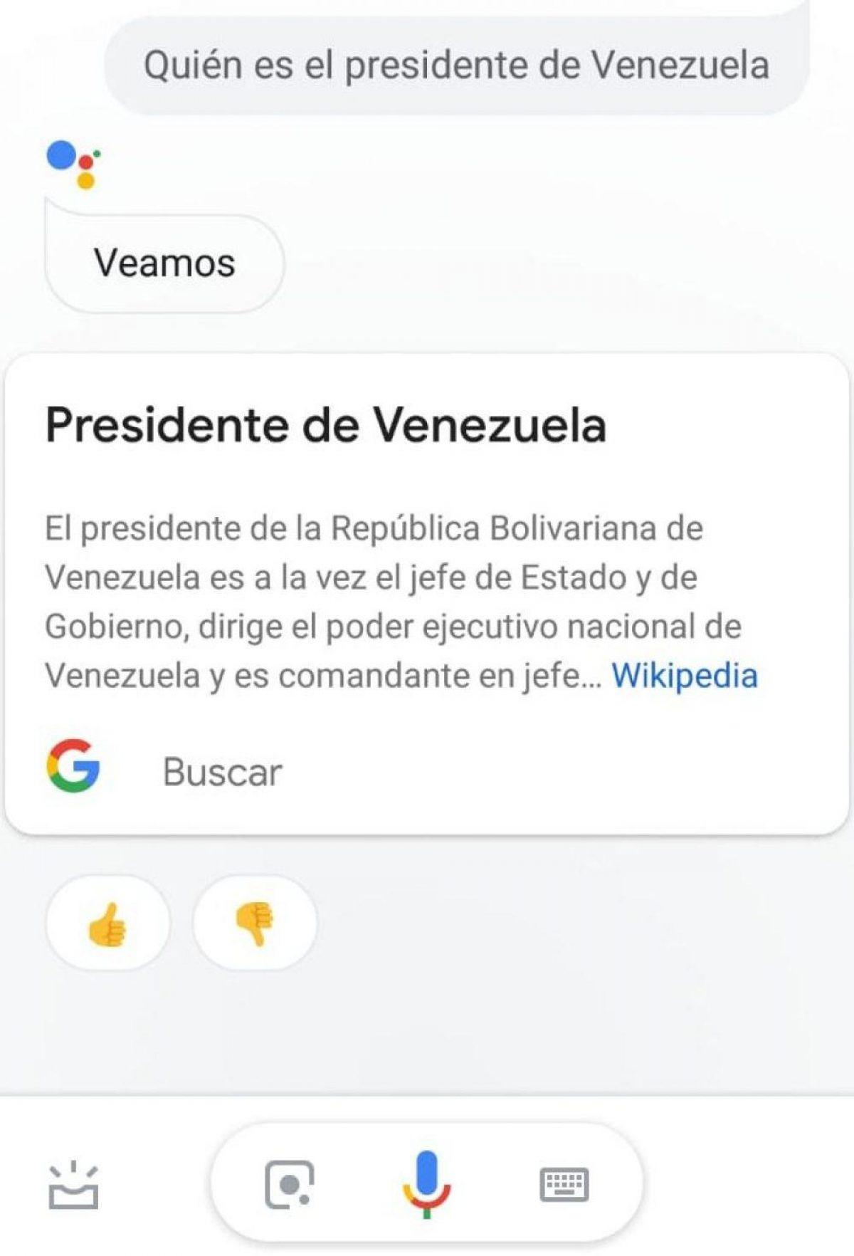 Google envía la responsabilidad a otras páginas. (Foto: Google Assistant)