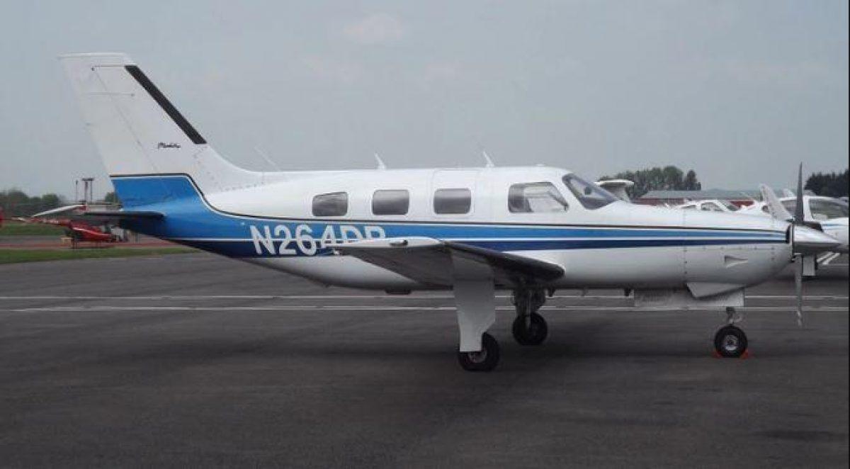El avión Piper Malibu que trasladaba a Sala (Vía: James from Cheltenham)