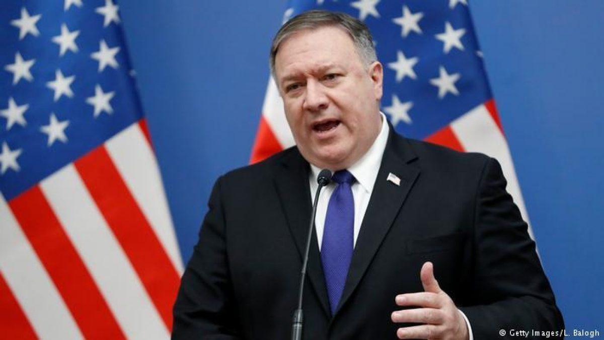 """""""Estados Unidos mantiene relaciones diplomáticas con Venezuela y las llevaremos a cabo a través del Gobierno interino de Guaidó"""", informó Secretario de Estado de EU, Mike Pompeo."""