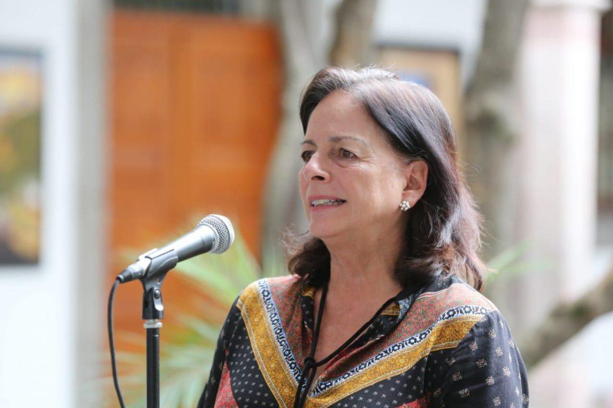 La ministra de Educación, Monserrat Creamer.