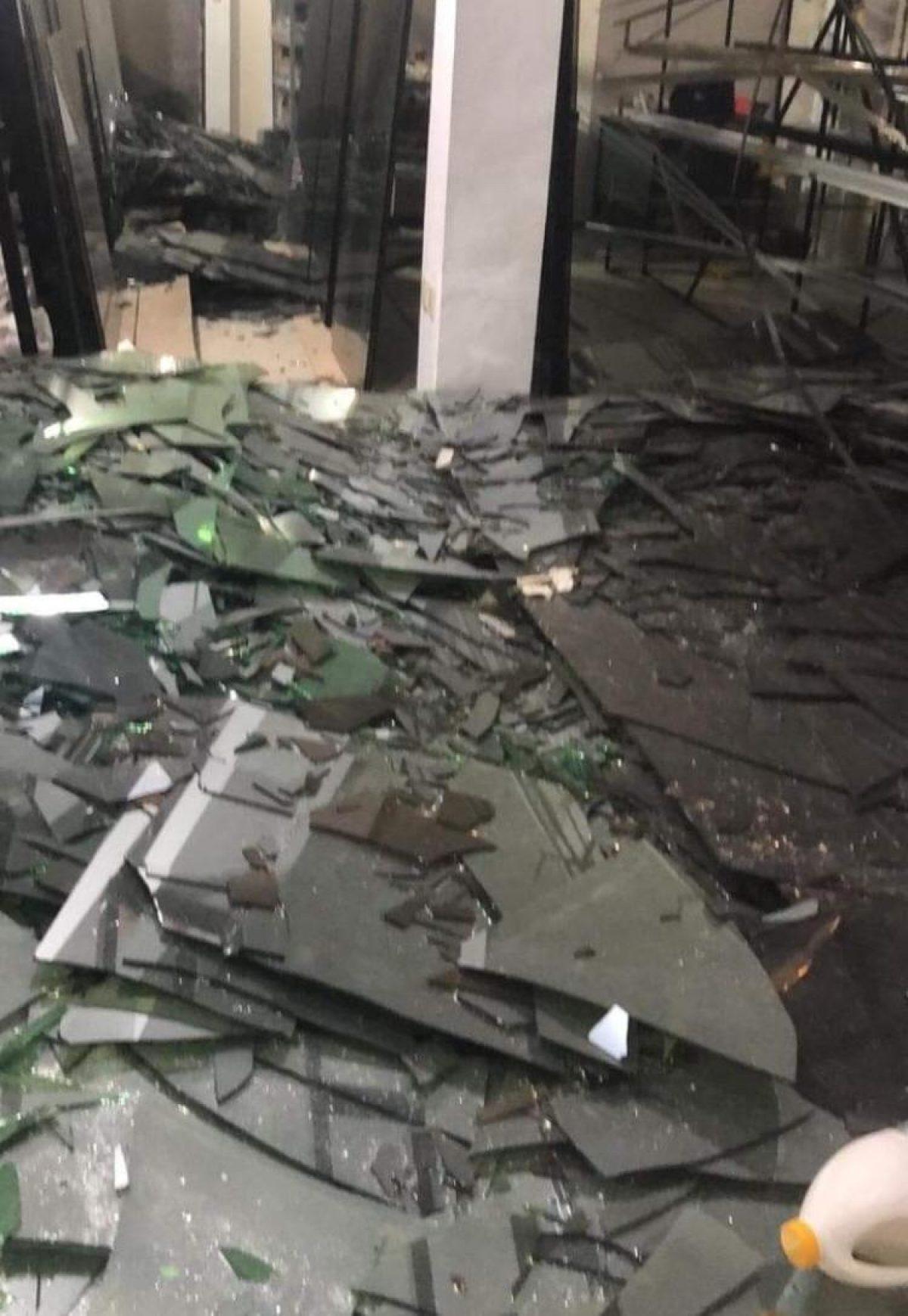 Se reportaron daños materiales en algunas viviendas