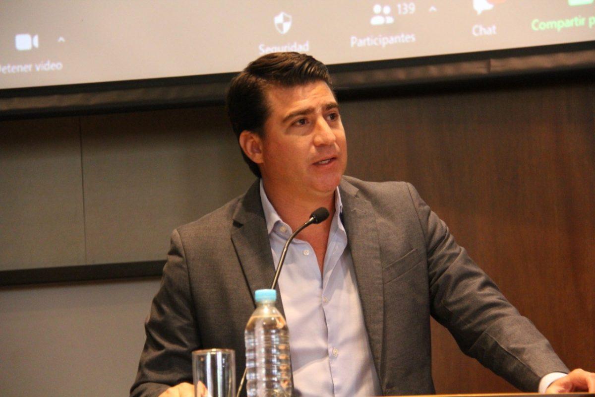 Ministro de Agricultura y Ganadería, Xavier Lazo Guerrero.