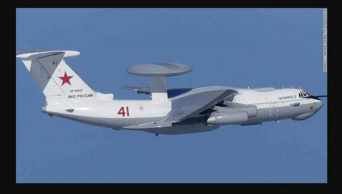 El A-50 es un avión AWACS desarmado, que representa el Sistema de Control y Advertencia Aerotransportado, diseñado para seguimiento y observación.
