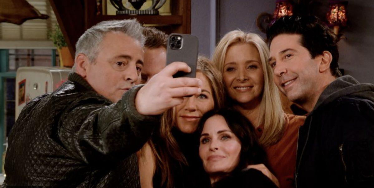 """Las primeras imágenes del reencuentro de """"Friends"""""""