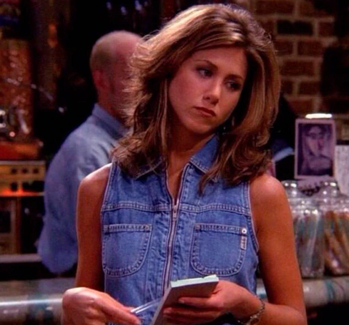 "Jennifer Aniston fue Rachel Green en la exitosa sitcom ""Friends"""