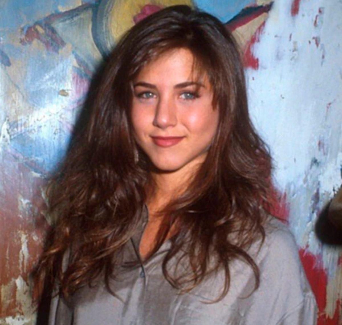 Jennifer Aniston cuando comenzaba su carrera en Hollywood