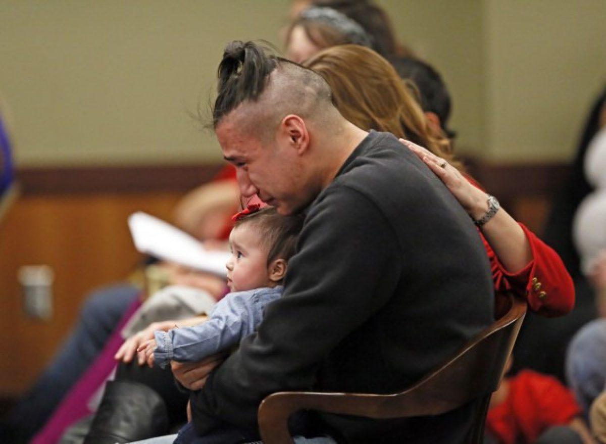 Haisley Jo, se llama la bebé sobreviviente del atroz crimen.