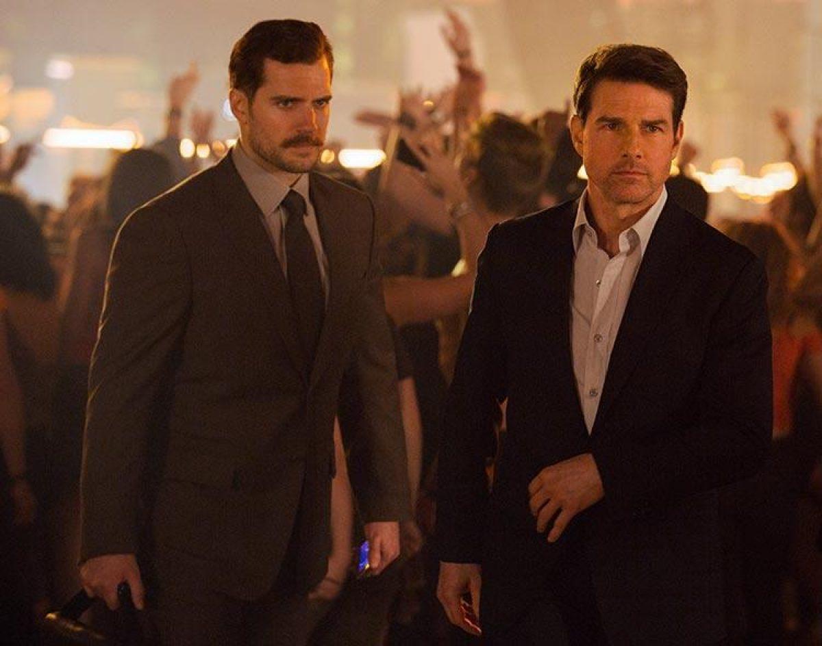 Henry Cavill y Tom Cruise