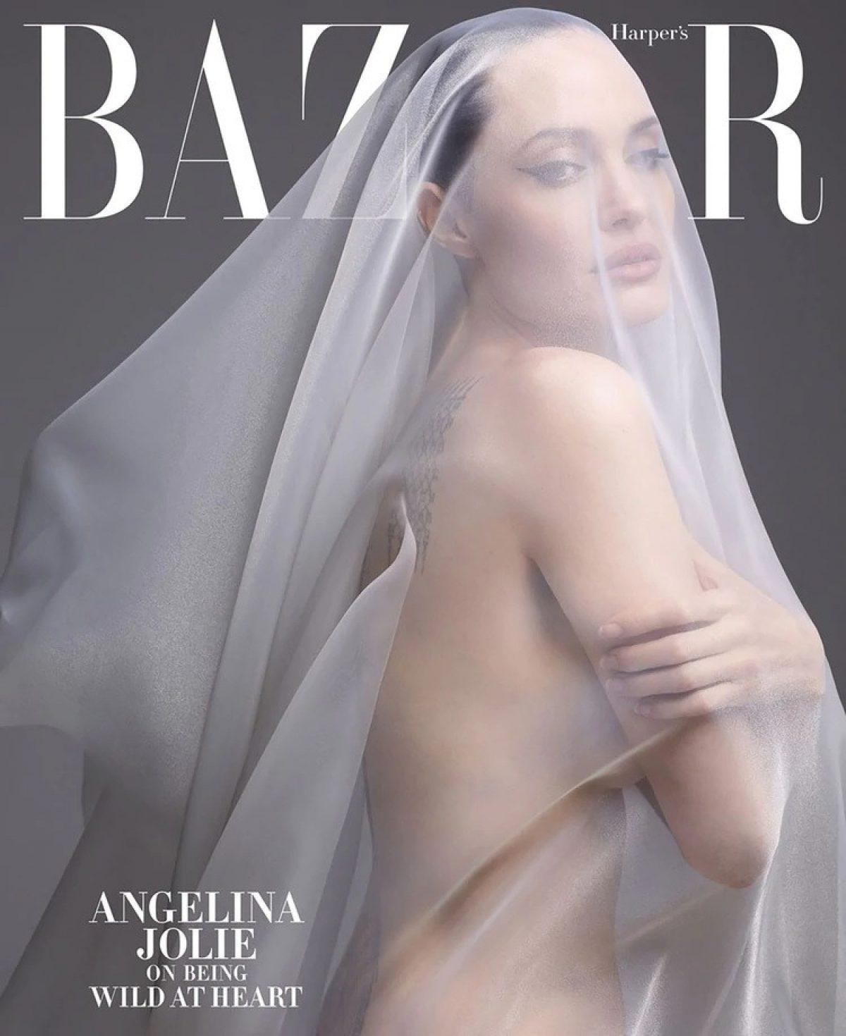 La entrevista de Harpers Bazaar en el cual Angelina Jolie se muestra tal cual es (Foto cortesía: Harpers Bazaar)