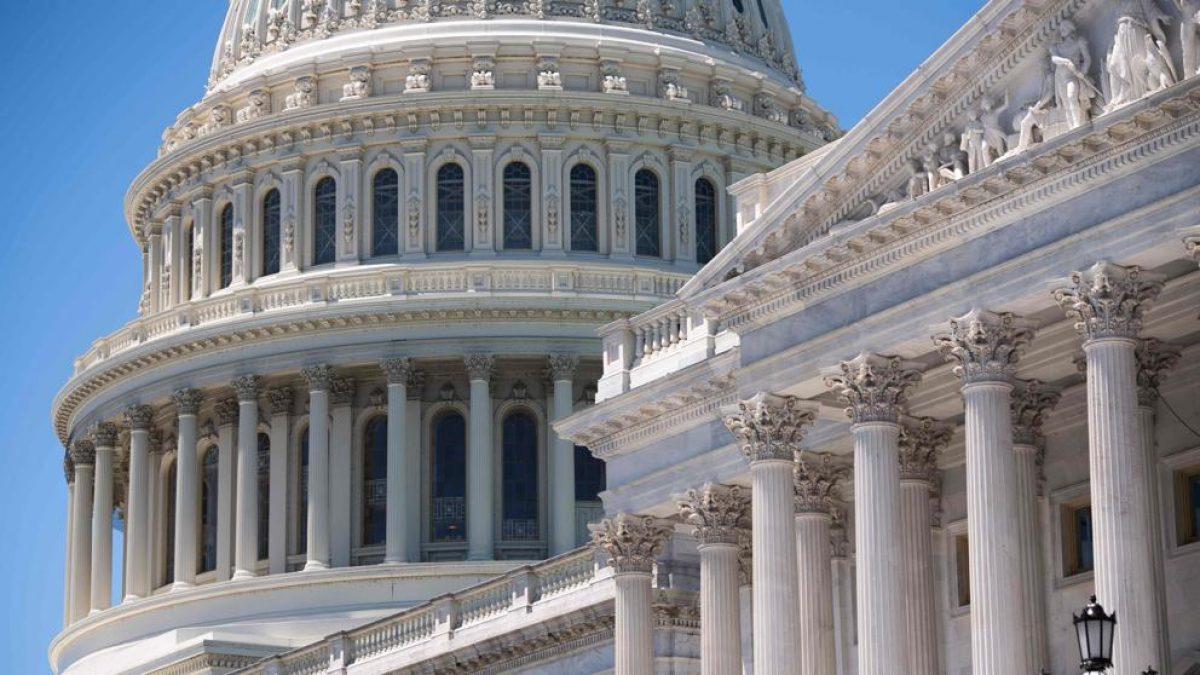 Imagen de archivo del exterior del Capitolio de los EE. UU., en Washington (Saul Loeb / AFP)