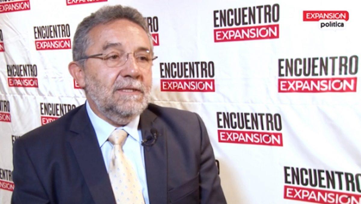 Rafael Carmona, director general del Sistema de Aguas de la capital (Sacmex).