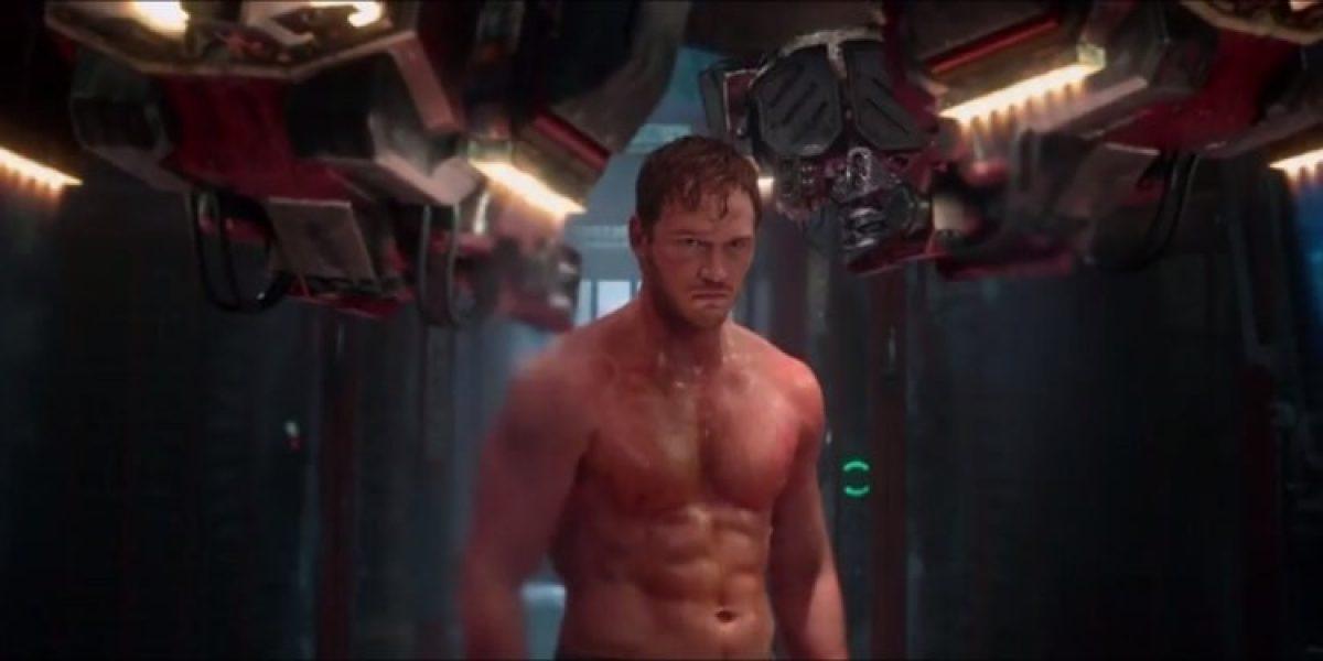 Chris Pratt en 'Guardianes de la galaxia'.