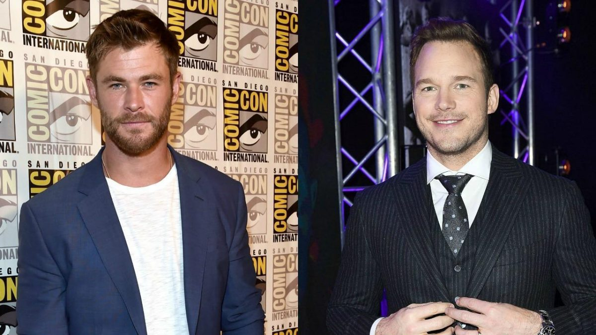 Chris Hemsworth y Chris Pratt