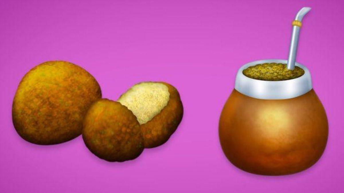 El falafel y el mate forman parte del nuevo conjunto de emojis.