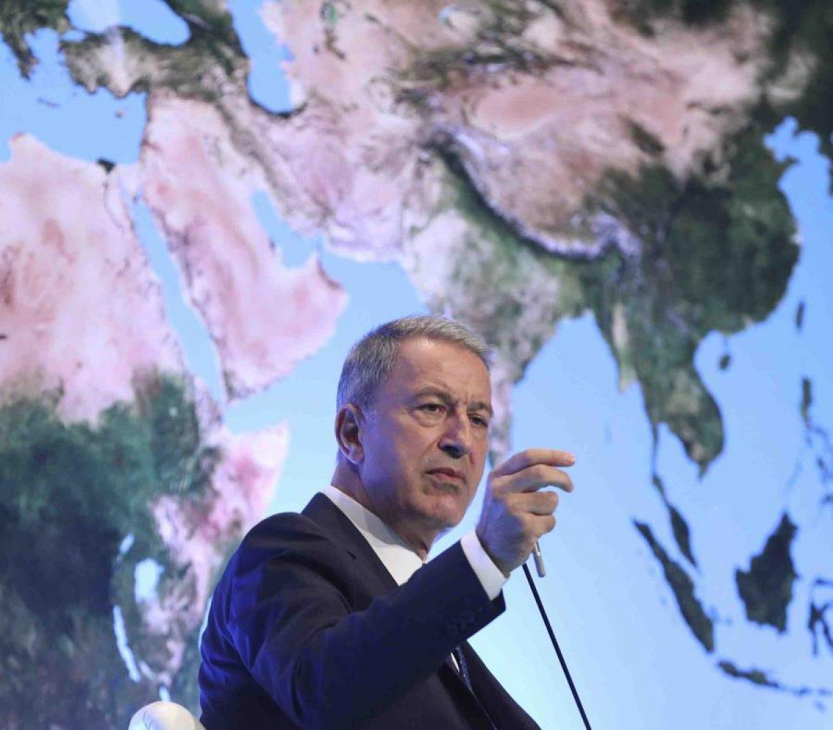 Ministro de Defensa de Turquía Hulusi Akar.