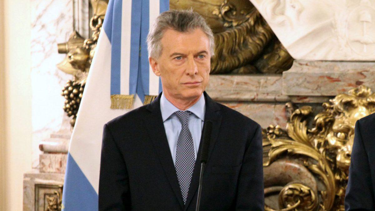 El presidente Mauricio Macri en Buenos Aires. 20 de agosto del 2019.