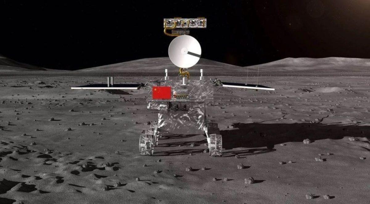 Un dibujo de la sonda Chang'e-4