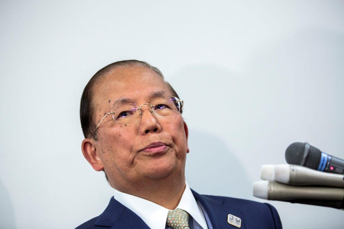Toshiro Muto, el director ejecutivo de los Juegos Olímpicos de Tokio 2020. (Behrouz MEHRI / AFP)